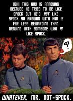 Mr. Not-Spock by enterprising-bones