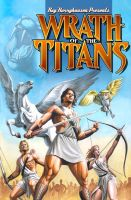 Wrath of the Titans GN Cover by BLUEWATERPROD