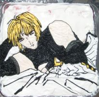 Sanzo and Meimei Cake by pirateking42