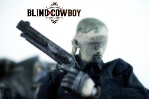 Blind Cowboy by Isaac-Renteria