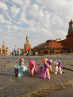 Ponies at Red Square by 7yashka7