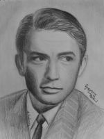 Gregory Peck by drEminens