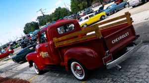 Red Chevy Pickup by rimete