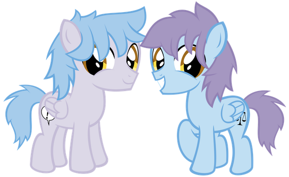 (Art Trade) Clevester And Clester by kuren247