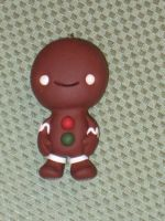 Gingergread Man Ornament by Rook-XIII