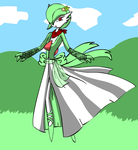 Grace the gardevoir by foxyanth92