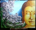 Buddha's Painting by baboolyn