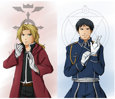 FMA: Fullmetal and Flame by ozamham