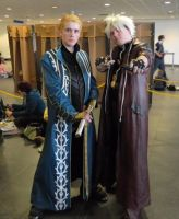Dante and Vergil Telford 2013 by MJ-Cosplay