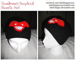 Deadmau5 Beanie Hat by Stitch-Happy