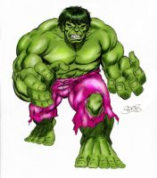 Hulk by Mark Spears by markman777