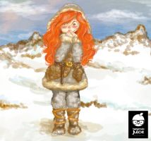 Ygritte being Cute by tamarindojuice