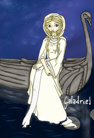 Galadriel, Lady of the light by Lmih
