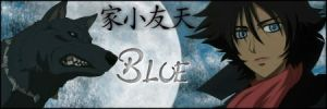Wolf's Rain Blue signature by firetongue8