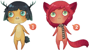 Pixel Anthros 3 - [CLOSED!] by Sergle