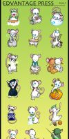 E-Mice - Complete Collection by Gatobob-Spotty