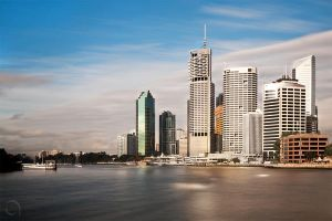 Brisbane City by antontang