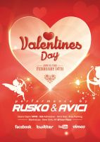 Valentines Day - Flyer by VectorMediaGR