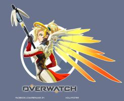 [OVERWATCH] Mercy by LaineKeith