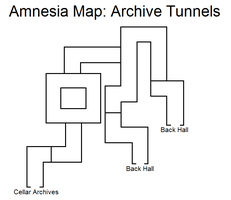Amnesia Map: Archive Tunnels by HideTheDecay