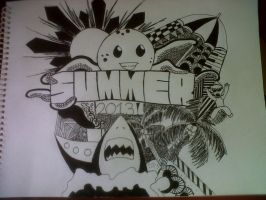 Doodle summer by olrak02