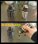 Dalek Salt and Pepper Shakers by EatToast