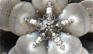 amazing silver snowflake by Andrea1981G