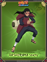 Hashirama Sejnu -Sage Mode-(Commission for anthon) by alxnarutoall