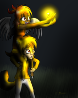 Catching Fireflies by Copper-Wings