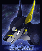 Personal - Sarge Badge by TwilightSaint