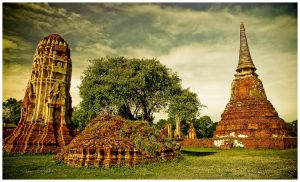 Ayutthaya by Dave-Ellis