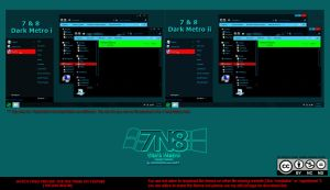 [ 2012 theme ] 7N8 Windows Dark Metro by HKK98