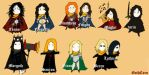 Silmarillion Characters (1) by GothCorn