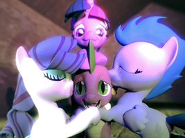Getting Lots of Attention (And Mares) by GMODSpikeplz