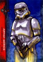 Storm Trooper #2 sketch card 501st Legion CVI 2012 by geralddedios