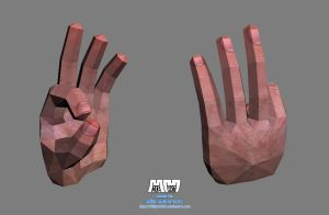 A-Okay Hand Pose 'Assembled' by billybob884
