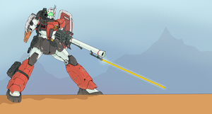 Heavy GM Cannon by MaiArtisticDrawings