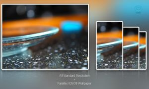 Glass Saucher - Wallpaper Set by Mattev