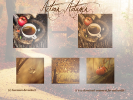 Action Autumn by lucemare