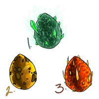 Fantasy Egg AdoptablesCLOSED by Auffallend