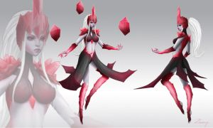 Bloodstone Syndra Skin by Zarory