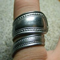 VINTAGE TRIBAL SPOON RING by Create-A-Pendant