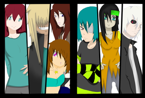 Soul eater collab by WhispererX3 by Tomboy-Kei