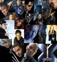 X-Men Collage by theloniuscrow