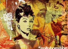 Audrey Hepburn by nadydesign