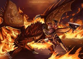 Monster hunter 3 Ultimate by Arlequinne