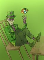 Rouges Gallery: Edward Nigma (The Riddler) by SmudgeThistle