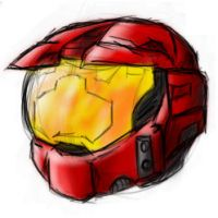 Red Helmet by Red8ball