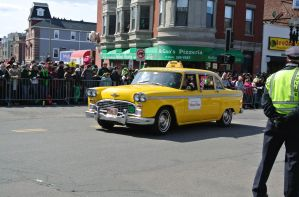 Checker Cab, Saint Patrick's Day Parade by Miss-Tbones