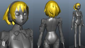 Aigis 3Dmodel   WIP by QUICKMASTER
